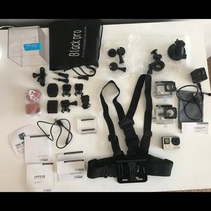 GoPro Hero 4 Silver + Dual Battery + Accessories
